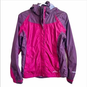 Eddie Bauer WeatherEdge Purple Pink Jacket XS